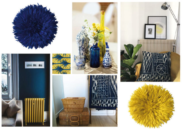 Planche-tendance Bleu-et-jaune