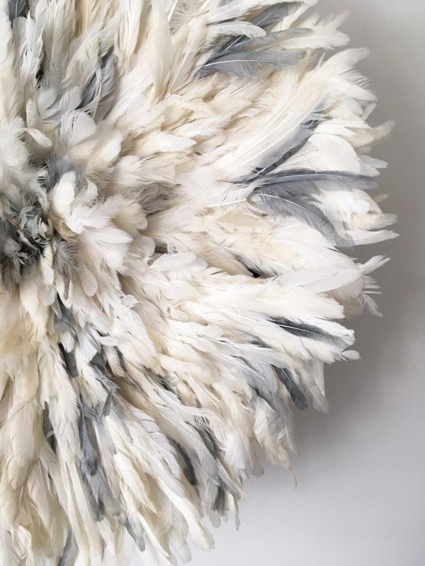 Juju Hat blanc et gris
