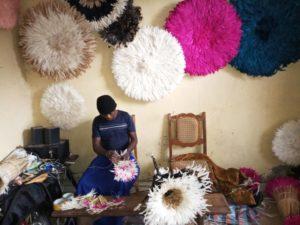 Fabrication de juju hats