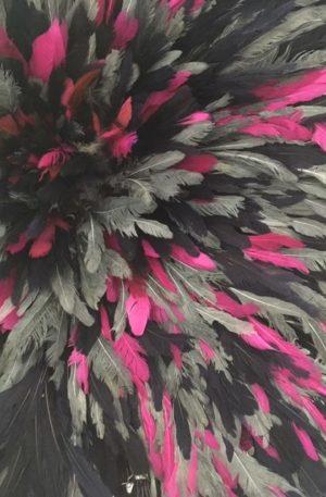 Juju Hat Noir Rose Gris - Soldes