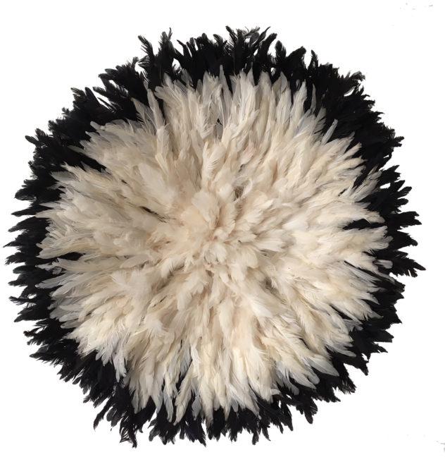 Juju Hat blanc et noir