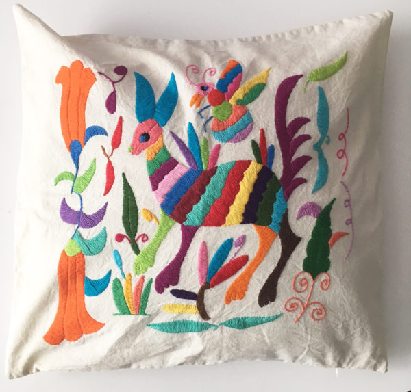 Coussins Otomi Collection Mexique